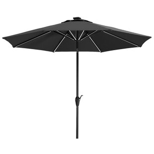 Blacklight 2.7m Traditional Parasol With Lights By Schneider Schirme