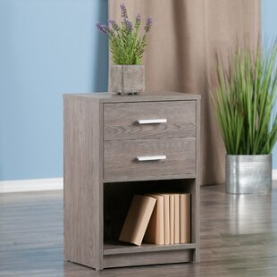 Crass End Table with Storage
