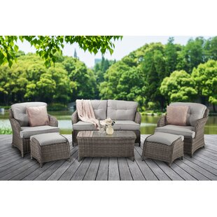 Bernette 4 Seater Rattan Sofa Set Image