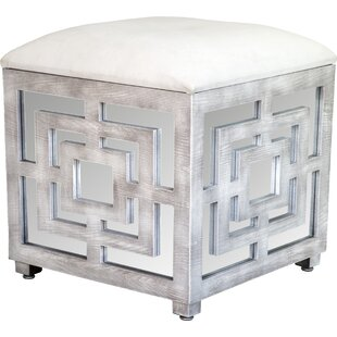 Affordable Reena Mirrored Storage Ottoman ByStatements by J