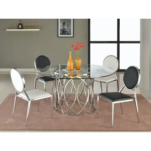 Courtney Dining Table by Chintaly Imports