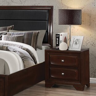 Jaxson 2 Drawer Nightstand by Wildon Home®