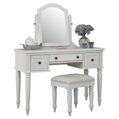 Harrison Vanity Set with Mirror by Beachcrest Home