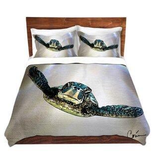 East Urban Home Sea Turtle I Duvet Set