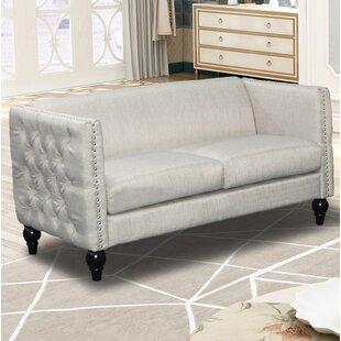 Annuziata Living Room Loveseat by House of Hampton