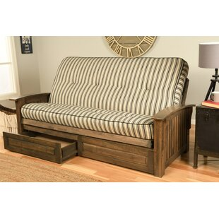Clinchport Storage Futon and Mattress