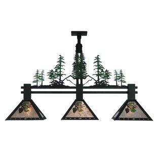 Meyda Tiffany Winter Pine Tall Pines 3-Li..