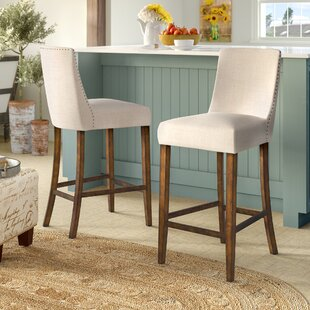 Find Cottonwood 30.6 Bar Stool (Set of 2) by August Grove Reviews (2019) & Buyer's Guide