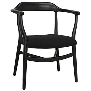 Rey Solid Wood Dining Chair by Noir