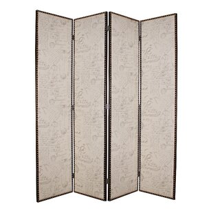 Screen Gems LuxurySalvatore 4 Panel Room Divider