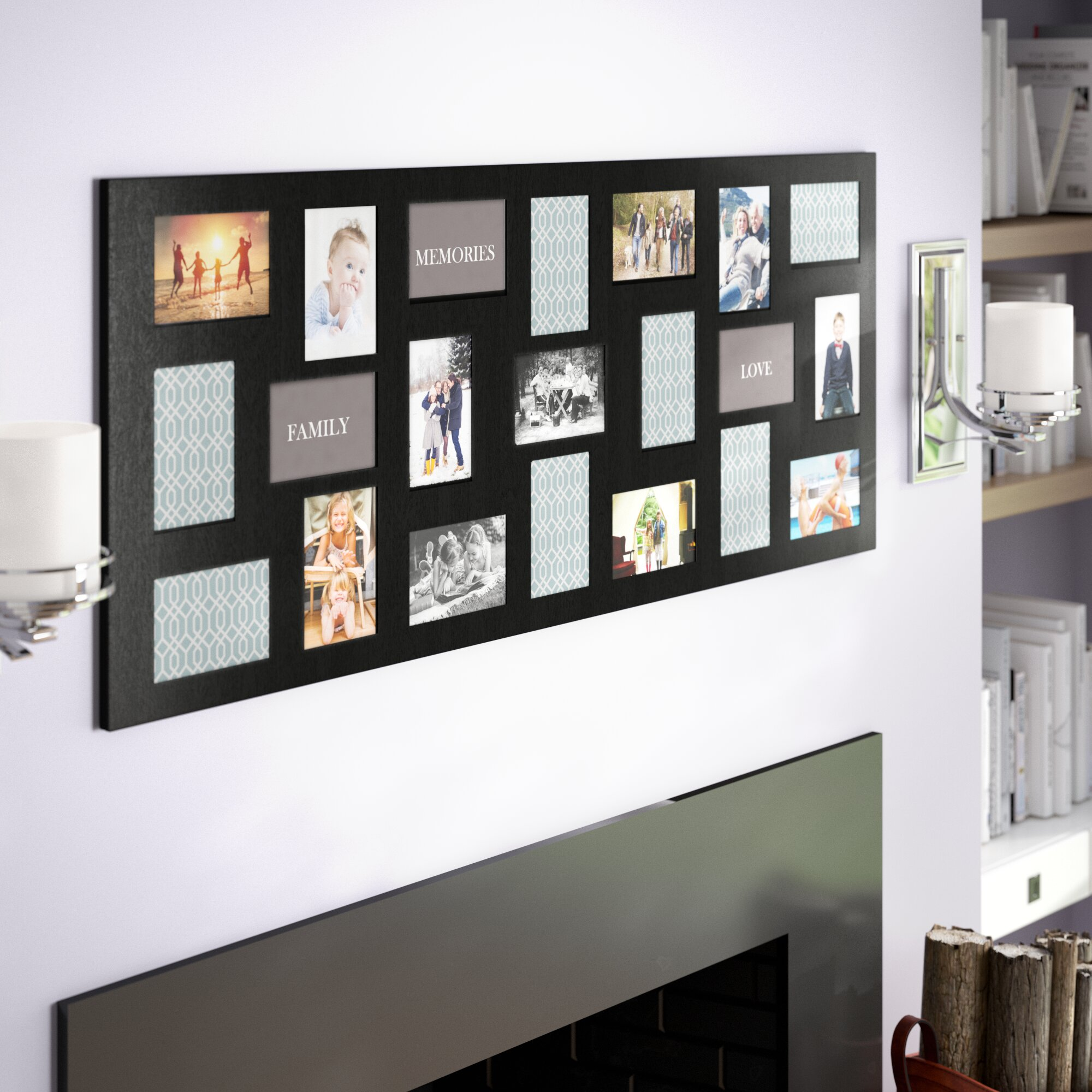Andover Mills Trottier 21 Opening Collage Picture Frame & Reviews