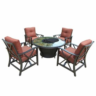 Paxtonville 5 Piece Conversation Set with Cushions