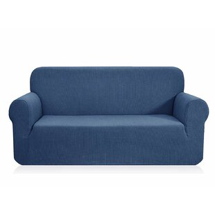 Box Cushion Sofa Slipcover by Latitude Run Looking for