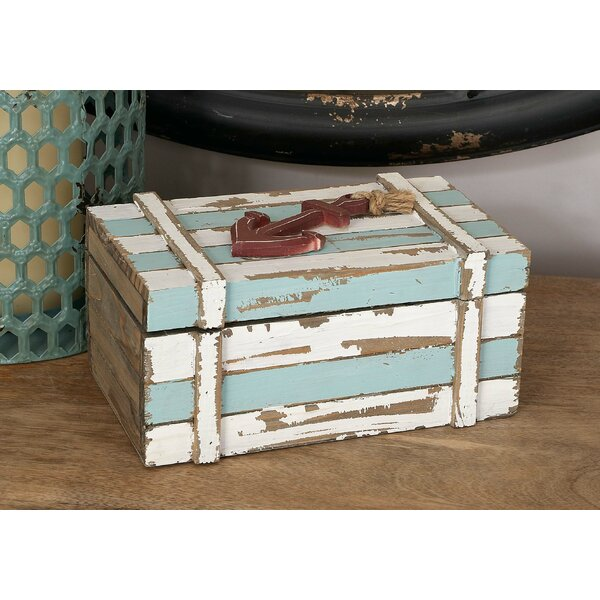 Wood Box Decor Wayfair