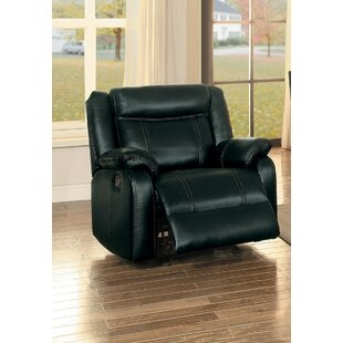 Austyn Upholstered Manual Glider Recliner by Red Barrel Studio