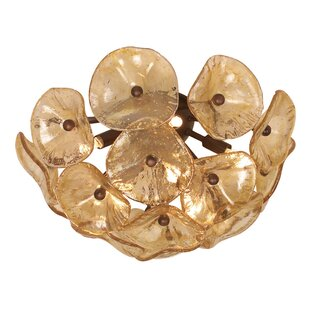 Bungalow Rose Rensselear 8-Light Flush Mount