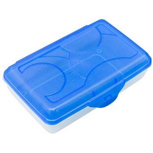 Sterilite Plastic Pencil Box (Set of 6)