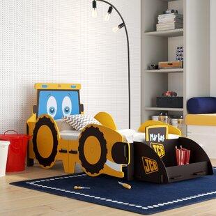 JCB Digger Junior Car Bed by Kidsaw