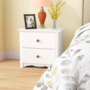 Hayman 2 Drawer Nightstand by Andover Mills