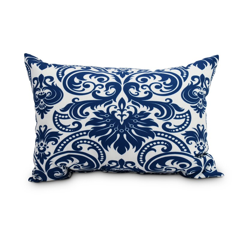 Heenan Floral Decorative Indoor Outdoor Lumbar Pillow Birch Lane