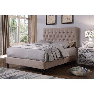 Garten Kingsize (5') Upholstered Bed Frame By Canora Grey