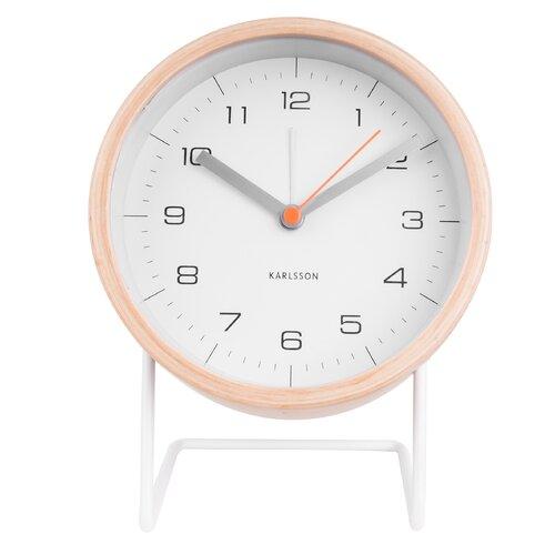 Tischuhr Innate | Dekoration > Uhren > Standuhren | Weiß | Karlsson