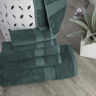 Stonecrest Luxury Rayon From Bamboo 6 Piece Towel Set