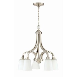 Alcott Hill Colfax 5-Light Shaded Chandelier