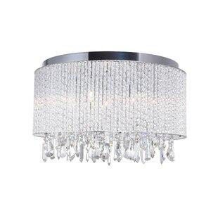 6-Light LED Flush Mount by..