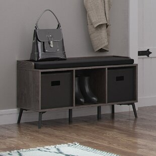Union Rustic Isoline Upholstered Storage Bench