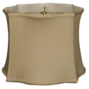 Savings 13 Silk Novelty Lamp Shade By Alcott Hill