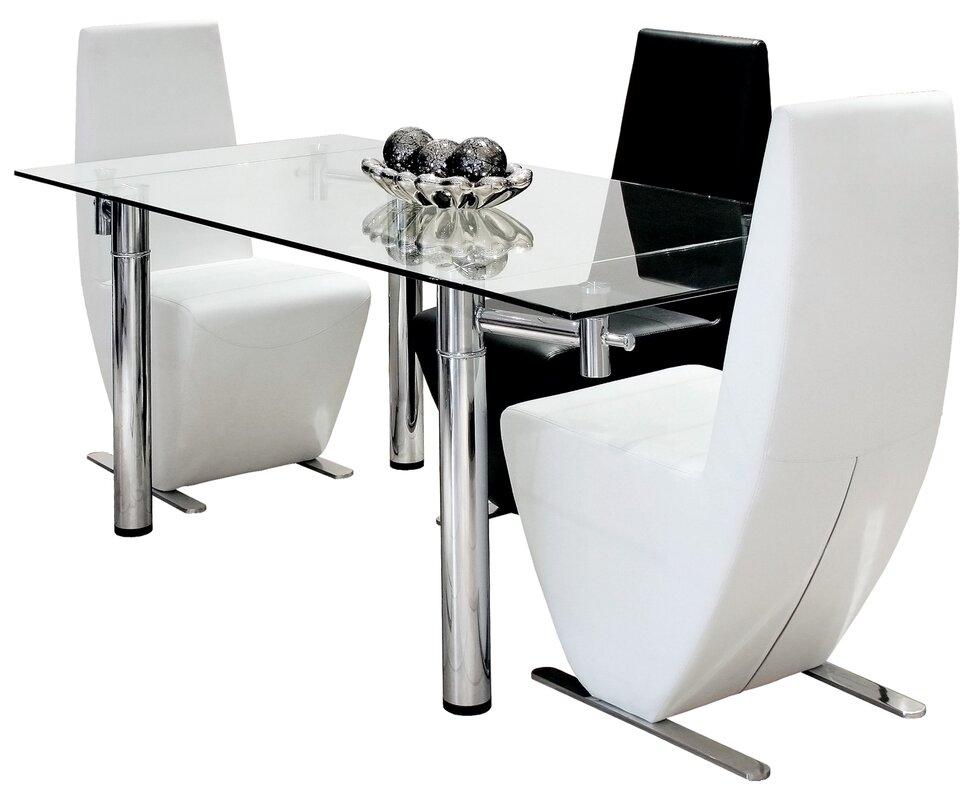 febland ausziehbarer esstisch aldeburgh bewertungen. Black Bedroom Furniture Sets. Home Design Ideas