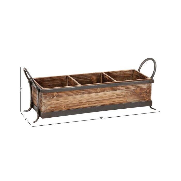 Prime Dodgeville Wood Metal Ottoman Tray Inzonedesignstudio Interior Chair Design Inzonedesignstudiocom