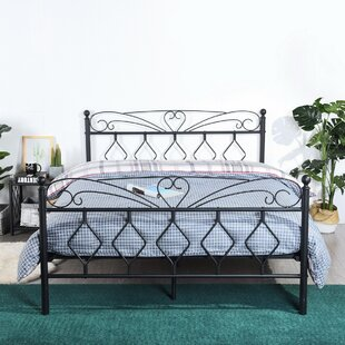 Calderon Double (4'6) Bed Frame By Marlow Home Co.