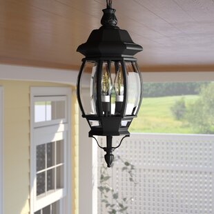 Outdoor Light Hanging Lamp With Chains Pendant Lantern for Patio Gazebo Lighting