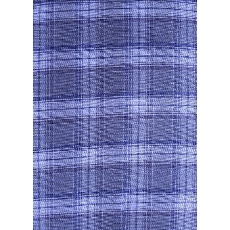 East Urban Home Raveena Plaid Wool Blue Light Violet Area Rug Wayfair