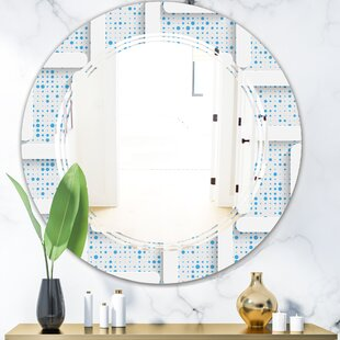 Triple C 3D and Light I Modern Wall Mirror by East Urban Home