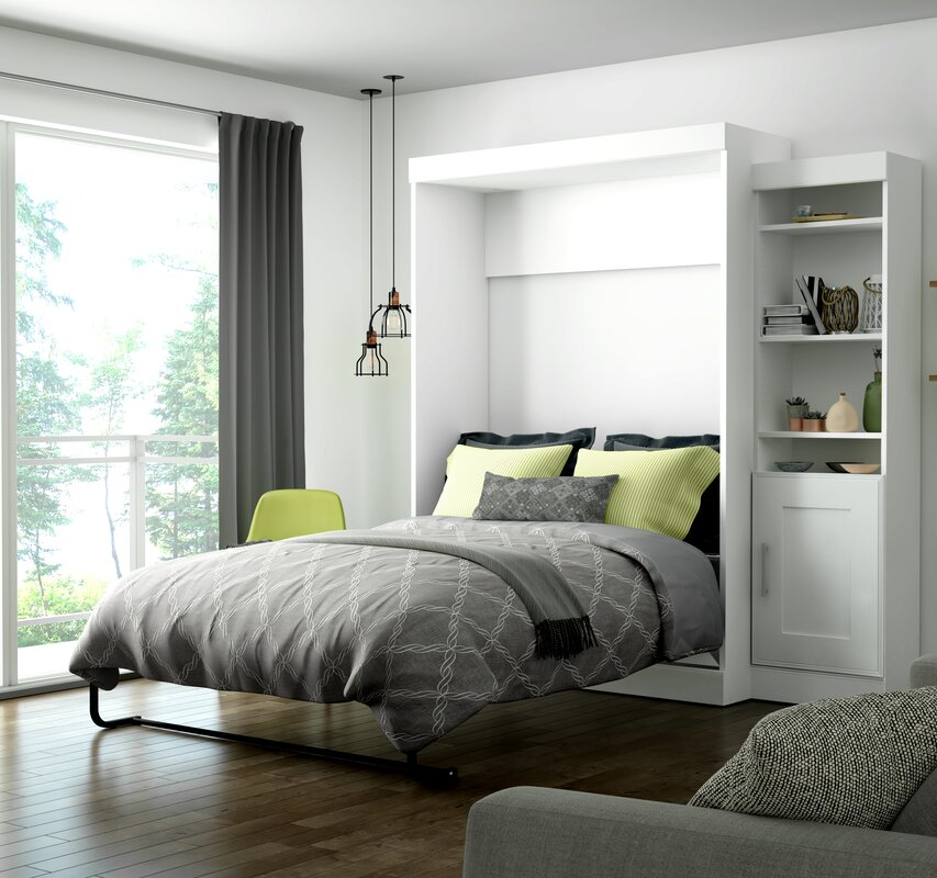 Beecroft Murphy Bed With Bookcase