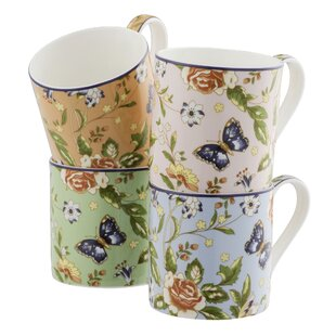 Cottage Garden Windsor Mug (Set of 4)