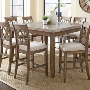 High Quality Portneuf 9 Piece Counter Height Dining Set