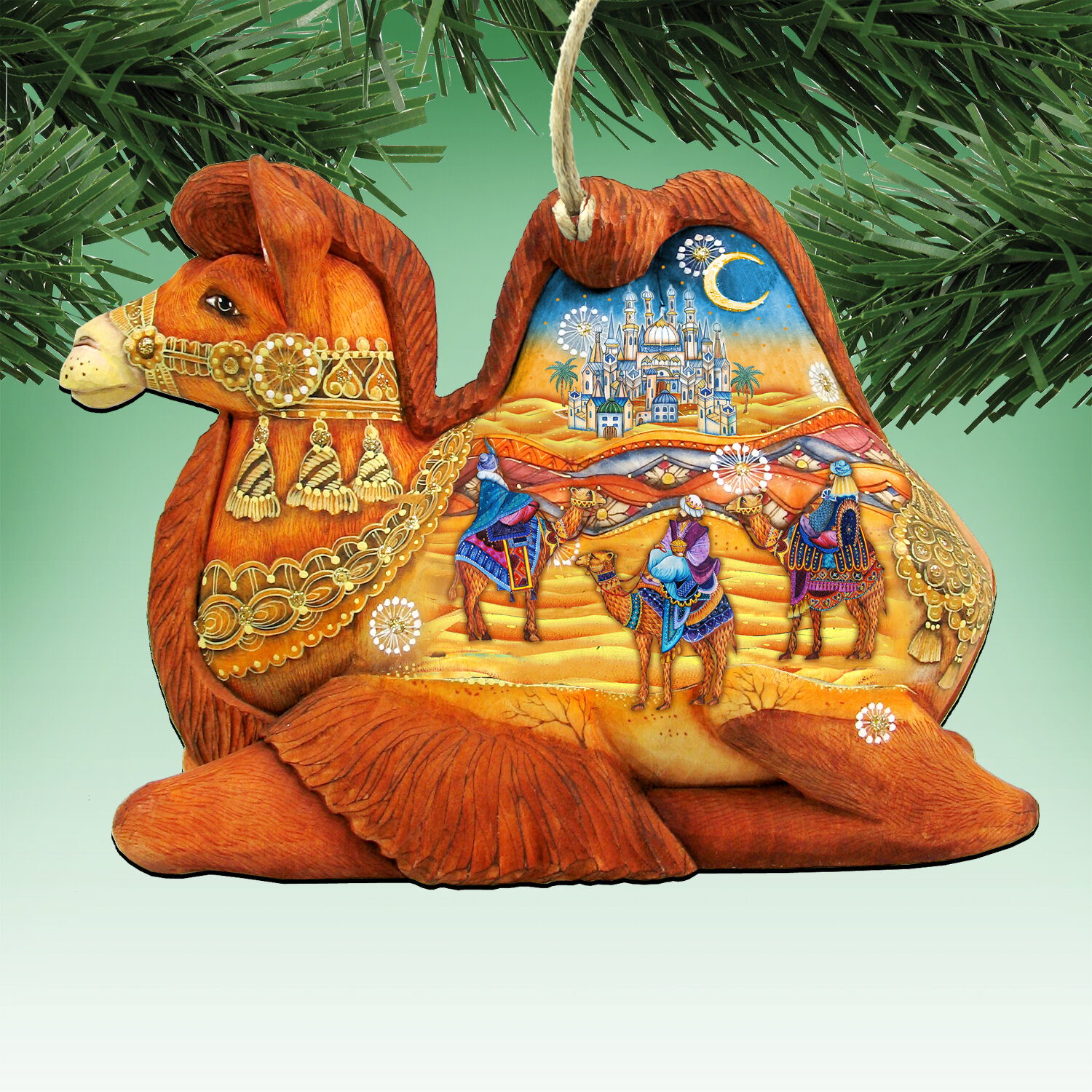 Camel Three Kings Decor Figurine