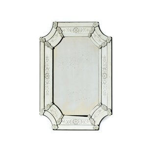 One Allium Way Hand-etched Accent Mirror