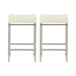 Dunton 66cm Bar Stool (Set Of 2) By Wade Logan