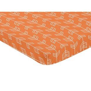 Bargain Arrow Print Fitted Mini Crib Sheet BySweet Jojo Designs