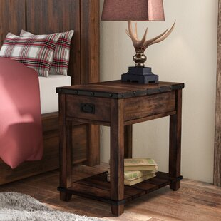 Boscobel End Table With Storage by Loon Peak