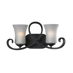 Charlton Home Westmoreland 2-Light Vanity Light