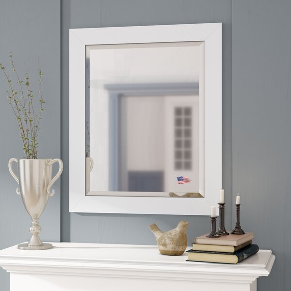 Glossy White Mirror Wayfair