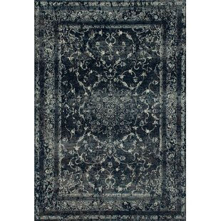 Channel Steel Blue Area Rug byCharlton Home