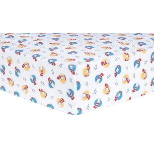 Order Cat in the Hat Fitted Crib Sheet ByTrend Lab