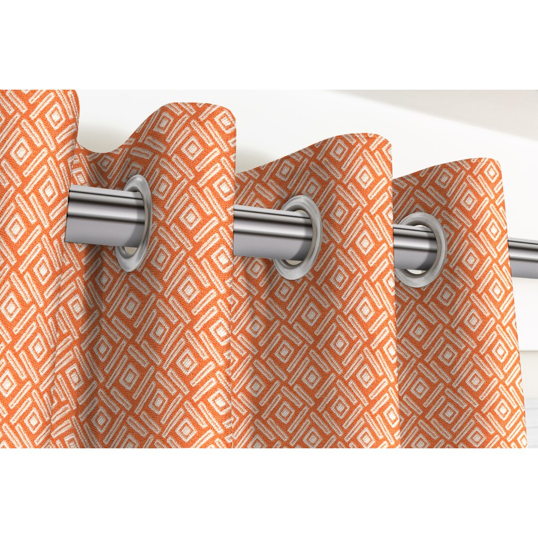 Cannet Eyelet Room Darkening Thermal Curtains